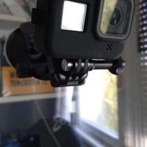 Suport auto cu ventuza pentru camera video sport