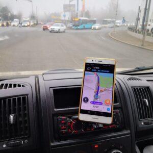 Suport magnetic de telefon/tableta pentru masina, cu prindere in fanta CD